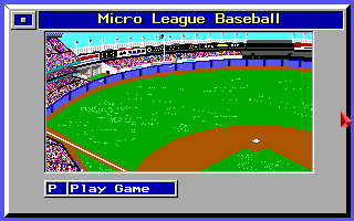 Micro League Baseball (2)