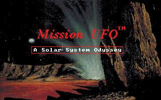 Mission UFO - A Solar System Odyssey