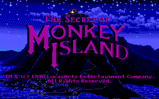 Monkey Island 1 - The Secret of Monkey Island (EGA)