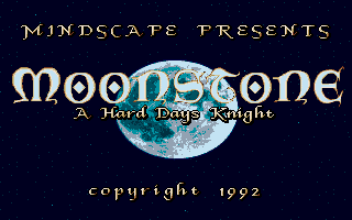 Moonstone - A Hard Days Knight