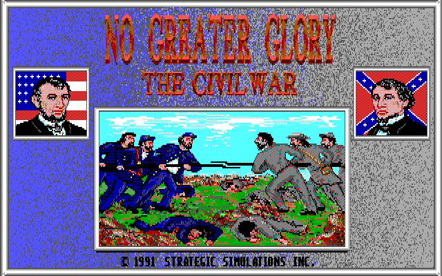 No Greater Glory - The Civil War