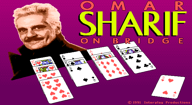 Omar Sharif on Bridge