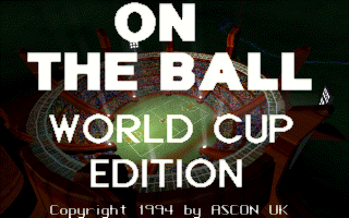 On the Ball - World Cup Edition