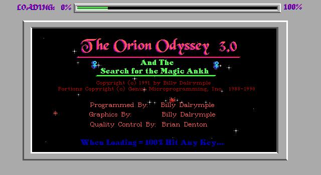 Orion Odyssey
