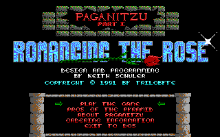 Paganitzu 1 - Romancing the Rose