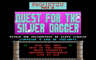 Paganitzu 2 - Quest for the Silver Dagger