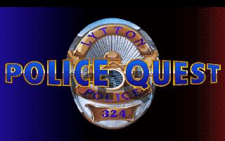 Police Quest 1 VGA