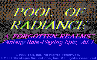 Pool of Radiance
