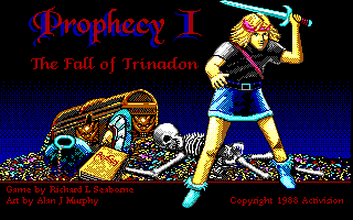 Prophecy 1 - The Fall of Trinadon