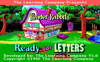 Reader Rabbit's Ready for Letters