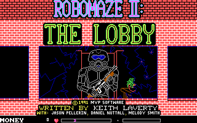 RoboMaze 2 - The Lobby