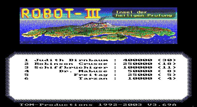 Robot 3 - Insel der Heiligen Prufung