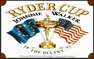 Ryder Cup - Johnnie Walker