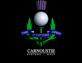 Scottish Open Carnoustie Virtual Golf
