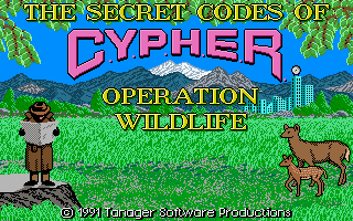 Secret Codes of Cypher - Operation Wildlife
