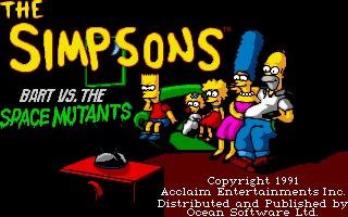 Simpsons - Bart vs. the Space Mutants
