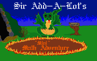 Sir Add-A-Lot's Mini Math Adventure
