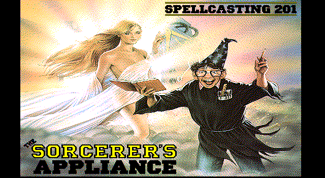 Spellcasting 201 - The Sorcerers Appliance