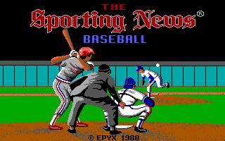 Sporting News Baseball