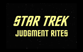 Star Trek - Judgement Rites