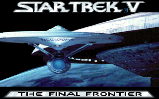 Star Trek - The Final Frontier