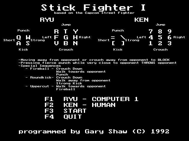 Stick Fighter 1