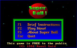 Super Ball!