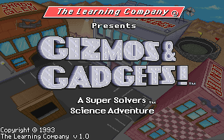 Super Solvers - Gizmos and Gadgets