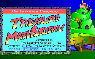Super Solvers - Treasure MathStorm