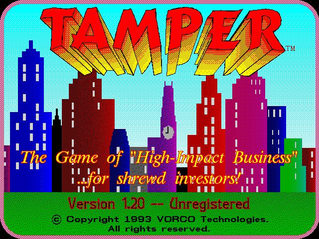 Tamper