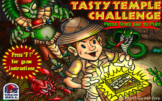 Tasty Temple Challenge