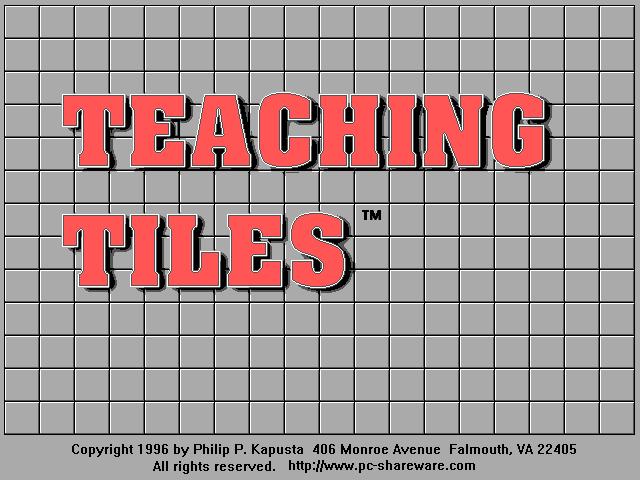 Teaching Tiles