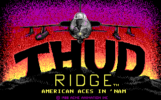 Thud Ridge - American Aces in 'Nam