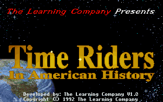 Time Riders in American History