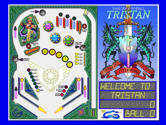 Tristan - Solid State Pinball