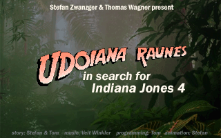 Udoiana Raunes - In Search for Indiana Jones 4