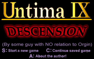Untima 9 - Descension