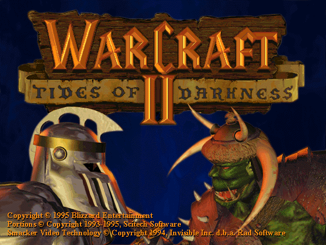 Warcraft 2 - Tides of Darkness