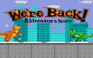 We're Back! A Dinosaurs Story