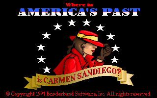 Where in America's Past is Carmen Sandiego
