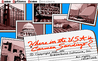 Where in the USA is Carmen Sandiego Enhanced