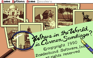 Where in the World is Carmen Sandiego Enhanced
