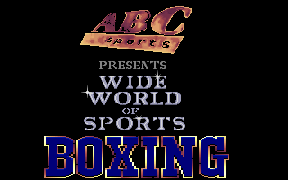 Wide World of Sport Boxing