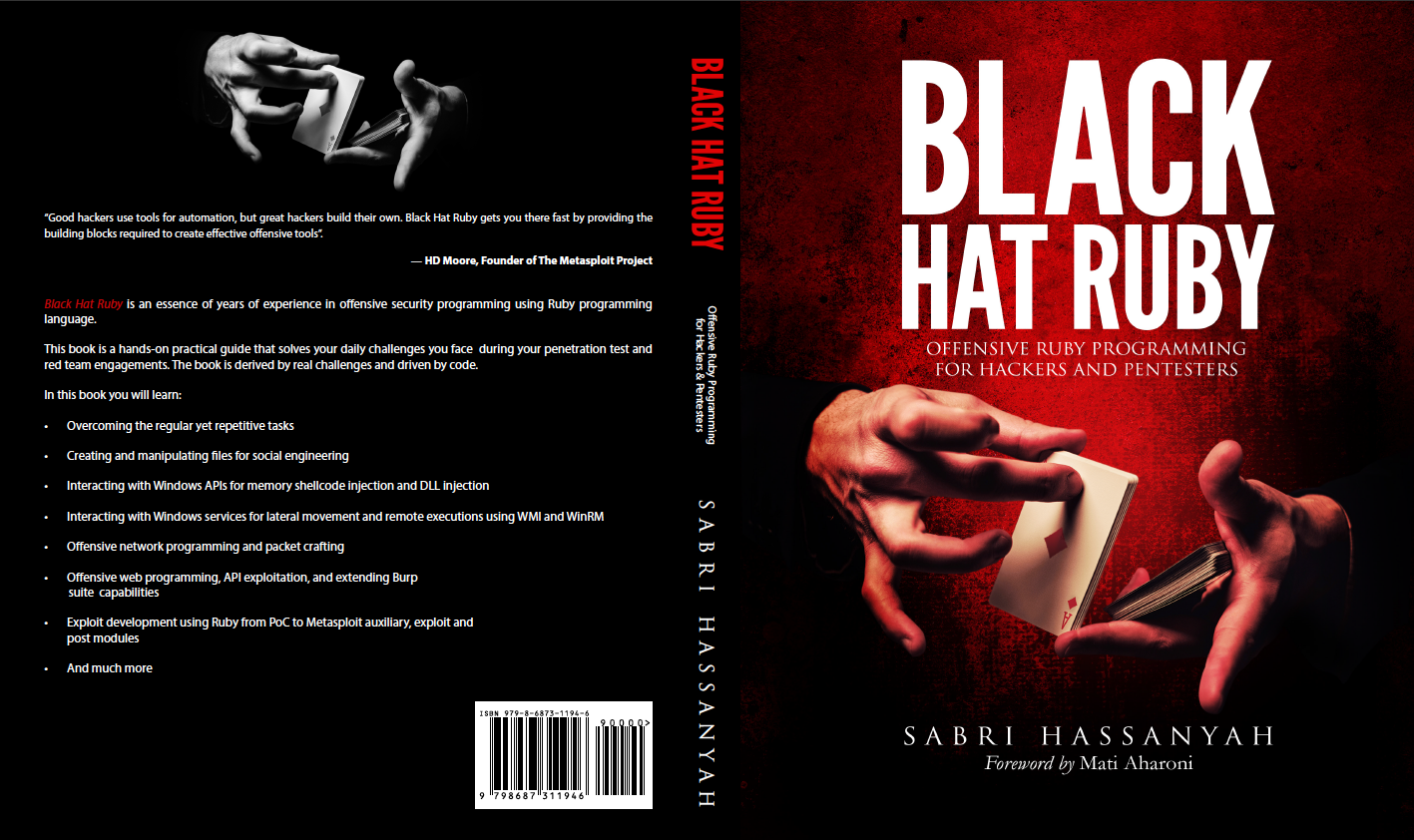 Black Hat Ruby cover