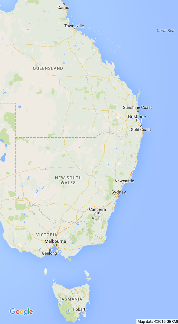 Australian East Coast