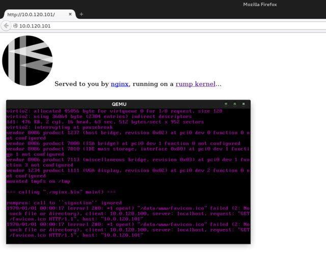 Running nginx on your tun network