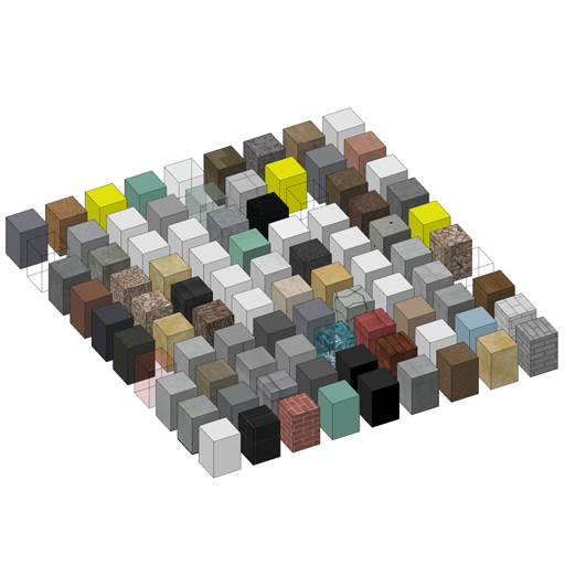 Baustoffübersicht icon