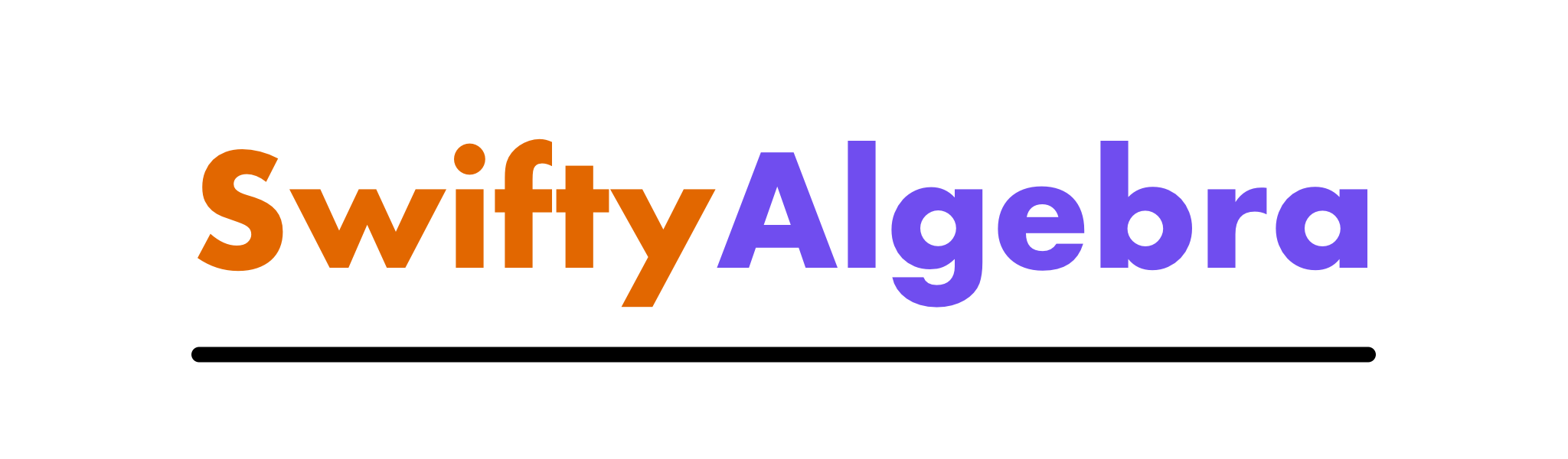 SwiftyAlgebra