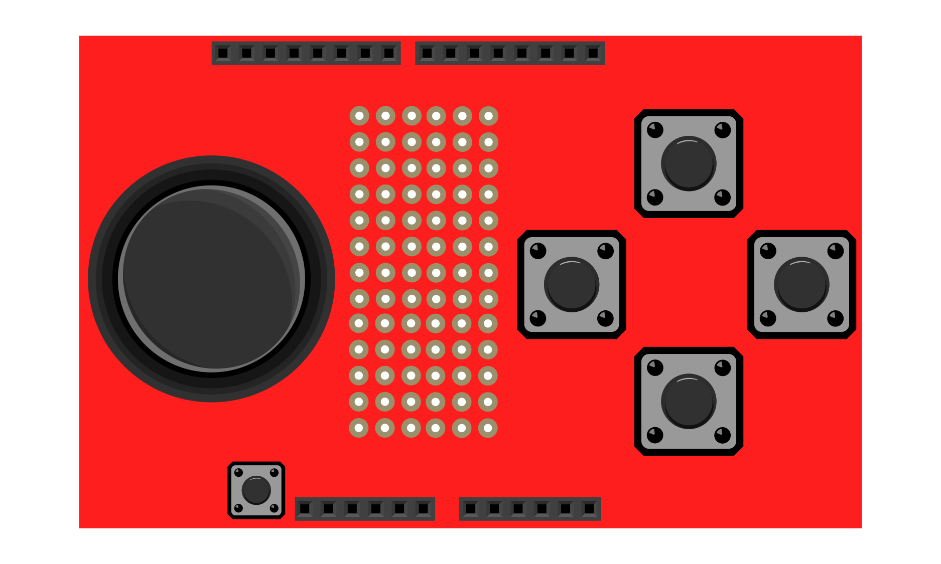 SparkFun JoyStick Shield