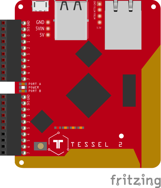Tessel IO Is Compatible With 2